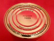 Консервированный хлеб армии Бундесвера 1989 год