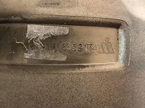 Накладка бампера Mercedes w166 хром верхняя