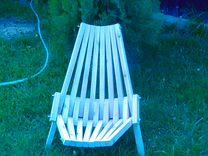 Кресло деревянное, садовое (складное)