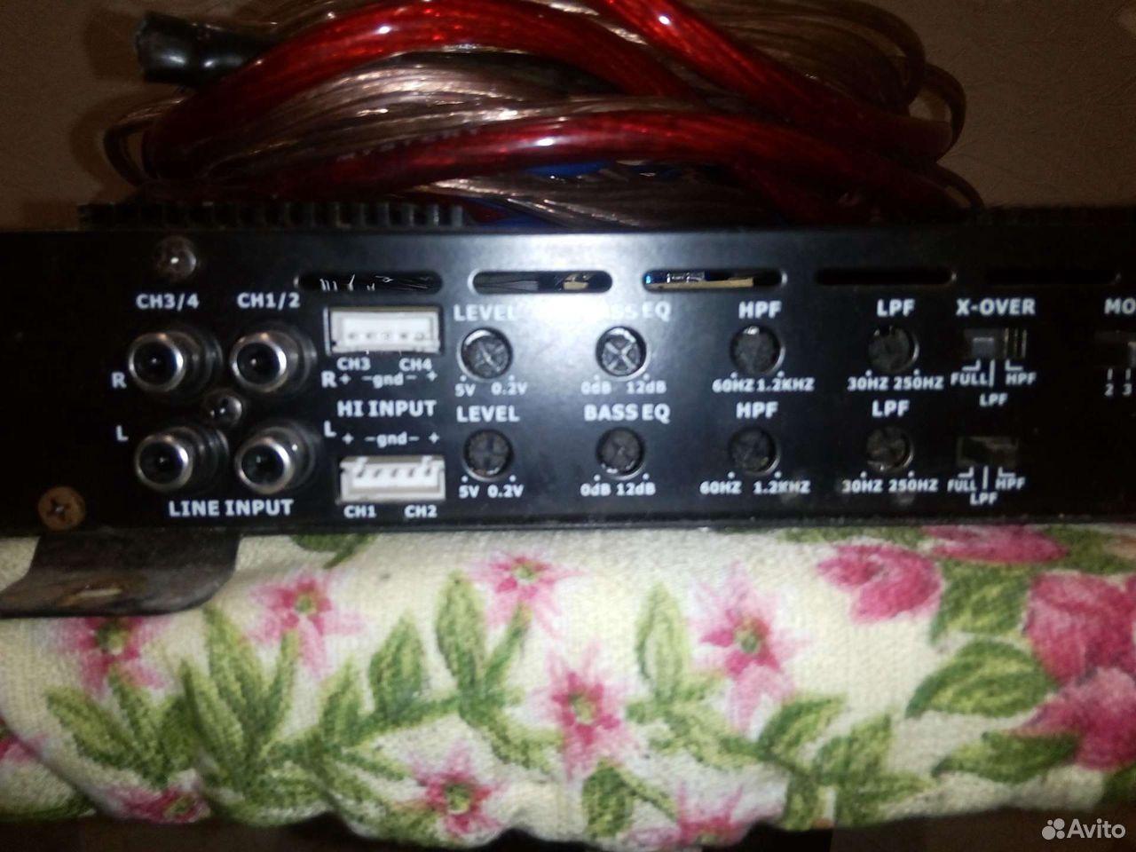 Музыка,усилитель магнитола и динамики провода ко  89997600744 купить 8