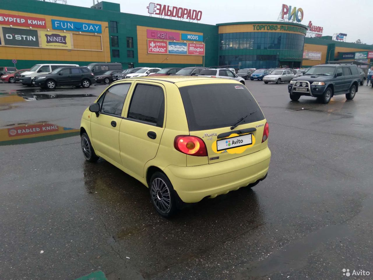 Daewoo Matiz, 2008  89095993727 купить 2