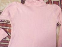 Свитер розового цвета с воротом — Одежда, обувь, аксессуары в Санкт-Петербурге