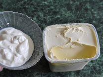 Коровье молоко, творог, сметана, масло,сыр