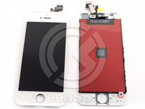 Дисплей для iPhone 5 +тач белый с рамкой AAA