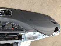 Bmw f30 f32 f34 торпедо кожа панель