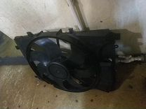Диффузор радиатора Мерседес 204 212