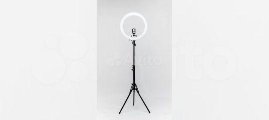 Кольцевая лампа + штатив