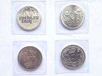 Олимпийские монеты, Сочи, в блистере