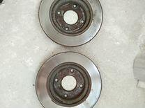 Передние тормозные диски от Ниссан Тиида