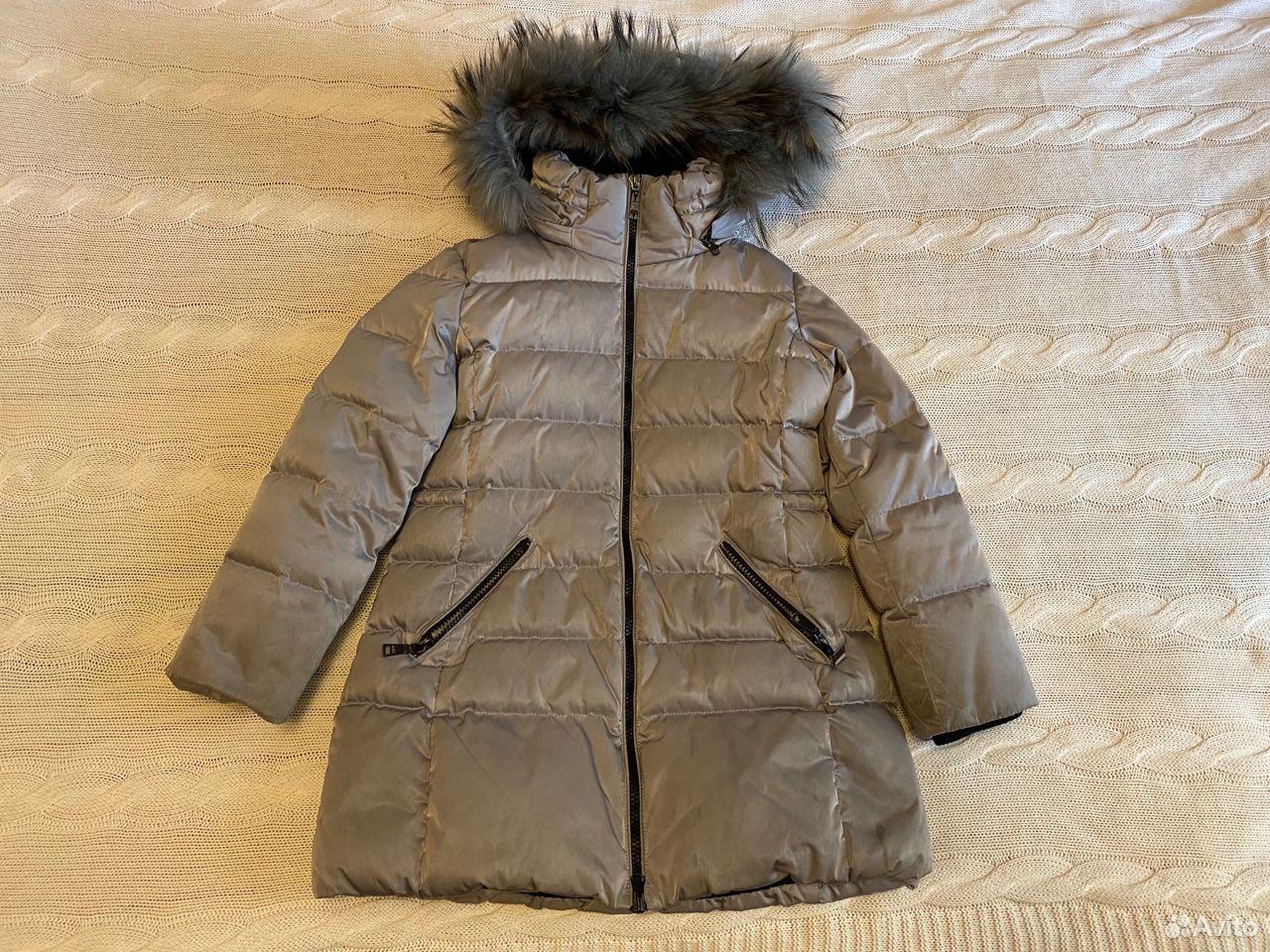 Пальто-пуховик фирмы Add (Италия) для девочки р128