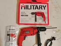 Дрель ударная military HD500