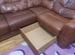 Кожаный угловой диван бу