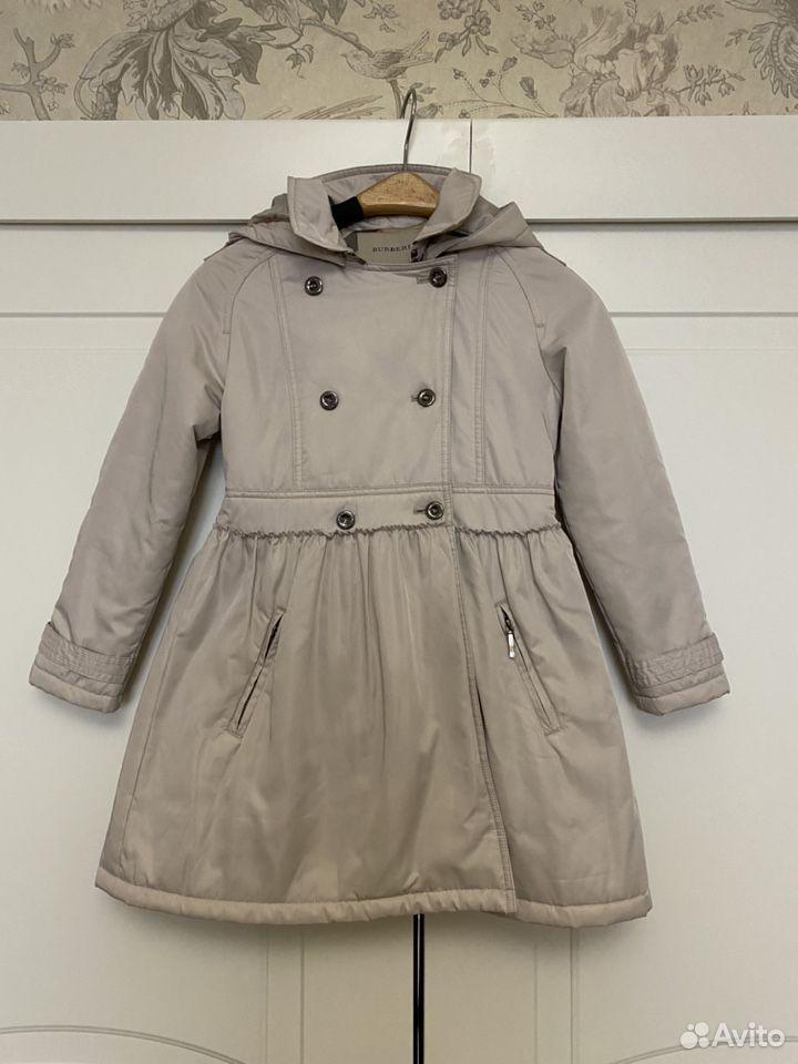 Пальто Burberry 8y/126см  89103000691 купить 1