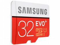 Карта памяти SAMSUNG microsdhc EVO plus 32GB UHS-I