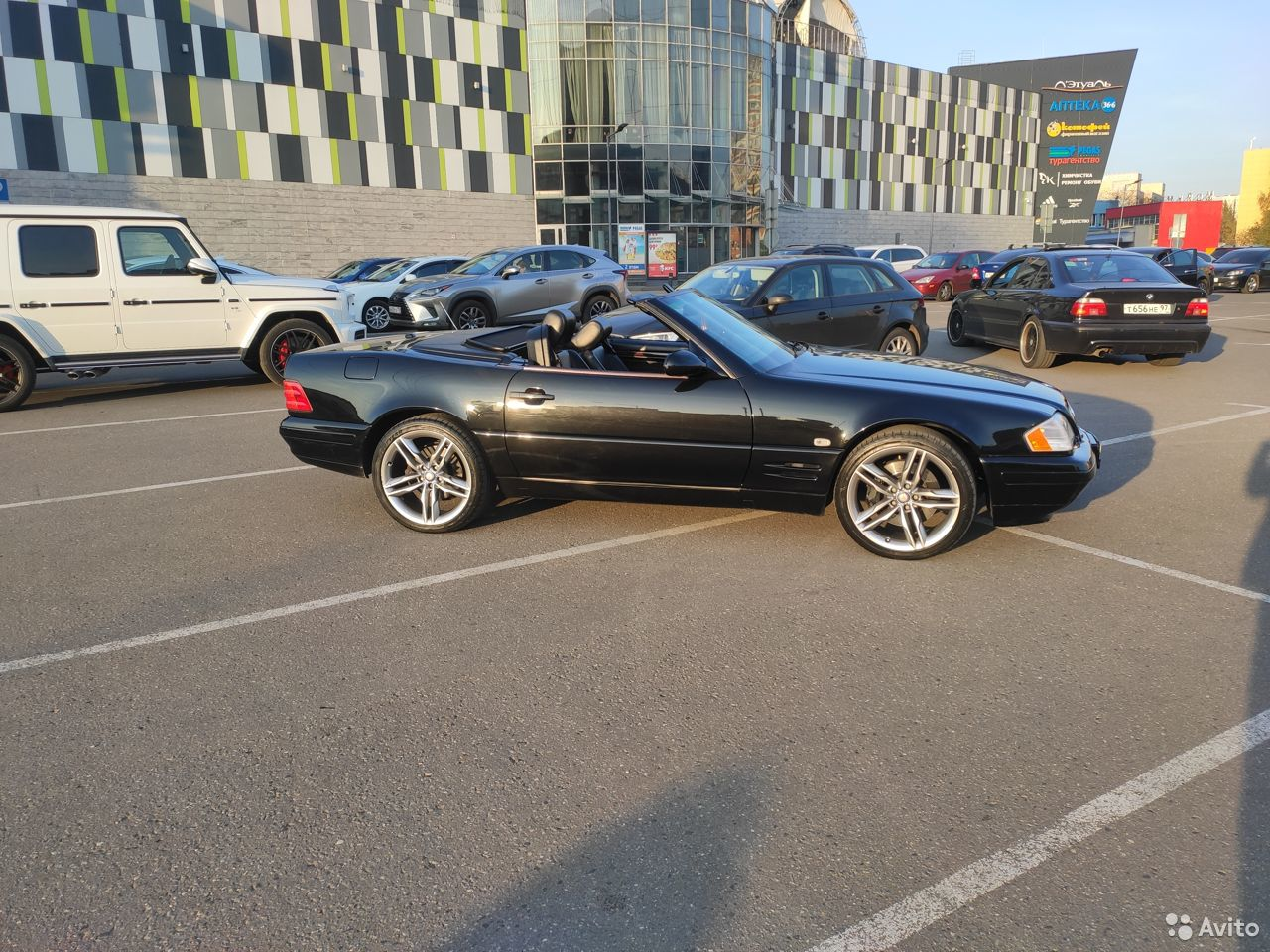 Mercedes-Benz SL-класс, 1999  89584676002 купить 5
